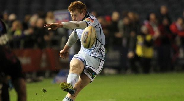 Rhys Patchell has joined the Scarlets
