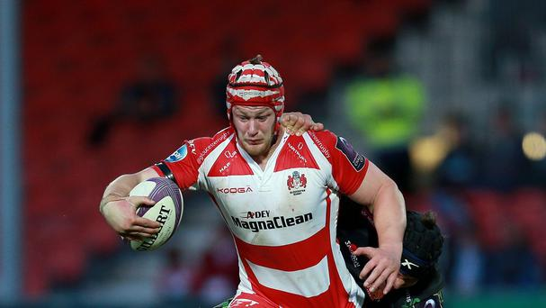 Lock Tom Savage will make his 100th Gloucester appearance in Thursday's European Challenge Cup game against Worcester