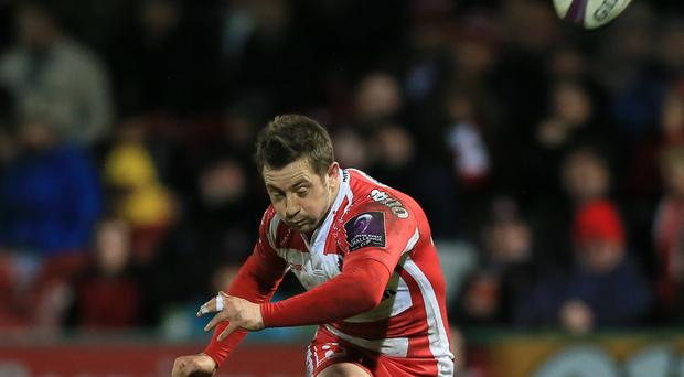 Greig Laidlaw, pictured, booted Gloucester to a record 13th consecutive Challenge Cup victory