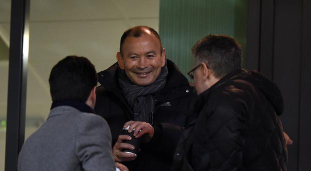England head coach Eddie Jones had to sit through a tight match