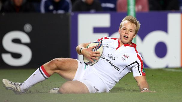 Ulster's Luke Marshall scored the decisive try in Toulouse