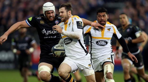 Wasps boss Dai Young hailed an outstanding display by centre Elliot Daly, centre, in an emphatic European Champions Cup victory over Bath