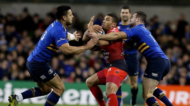 Leinster centre Ben Te'o, pictured left, will join Worcester next summer