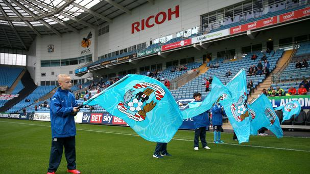 League One club Coventry City are to continue playing at the Ricoh Arena until at least 2018