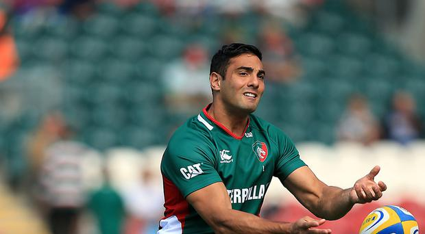 Bath have announced the signing of former Leicester and London Irish back Dan Bowden