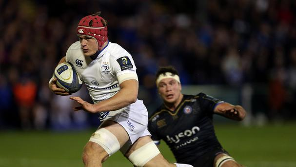Leinster's Josh van der Flier scored the only try in his side's win over Connacht