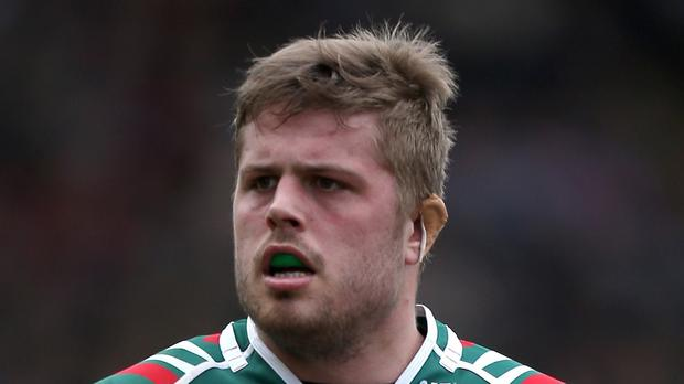 Ed Slater suffered a nasty injury as his Leicester side were well beaten