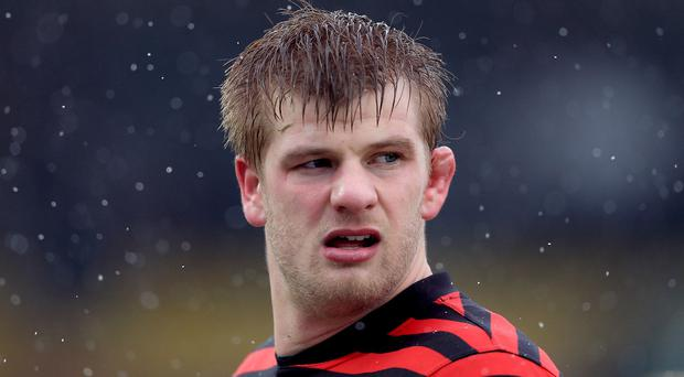 Saracens' Mark McCall was full of praise for George Kruis, pictured, after the defeat of Leicester