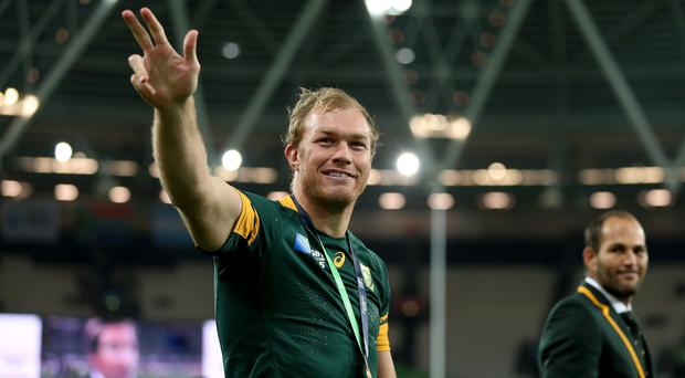 South Africa flanker Schalk Burger has agreed a two-year deal with Saracens