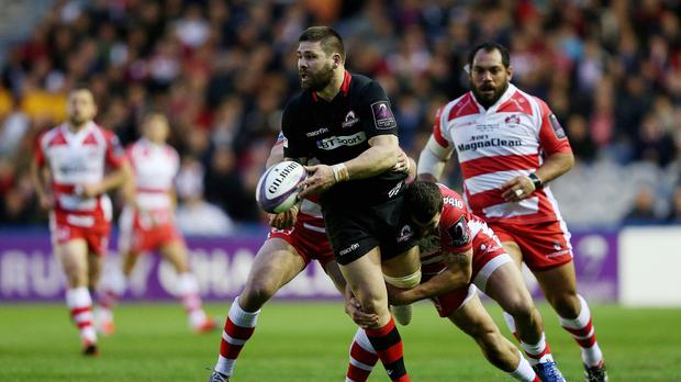 Edinburgh's Cornell Du Preez will make his 50th appearance for the Gunners against Treviso on Friday