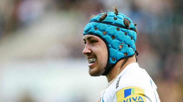 Jack Nowell will play at outside centre for Exeter