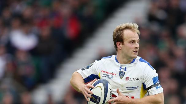 Nick Abendanon scored Clermont's opening try