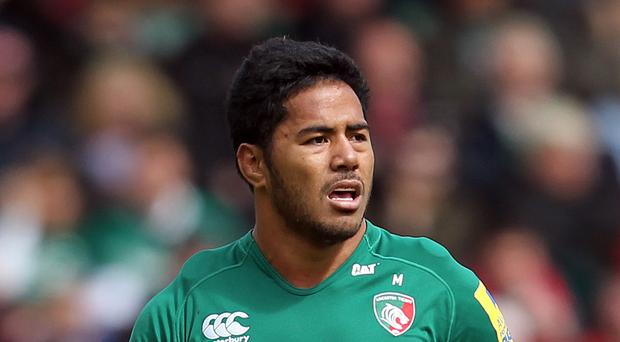 England centre Manu Tuilagi made his first appearance in 15 months for Leicester