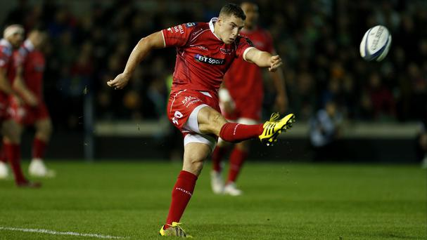 Steven Shingler made no mistakes with his match-winning kick