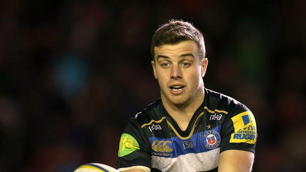 George Ford kicked two drop goals in Bath's 12-9 defeat in Toulon.