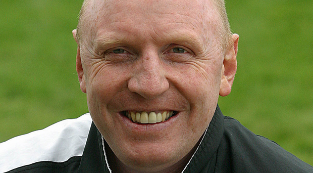 Pleased: City of Derry coach Terry McMaster