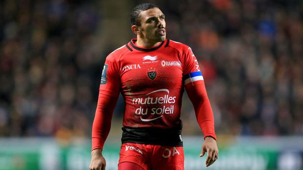 Bryan Habana scored a crucial second-half try for Toulon