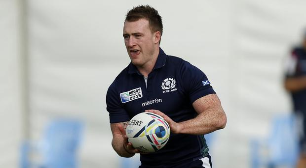 Stuart Hogg scored Glasgow's try in a convincing win over Racing 92
