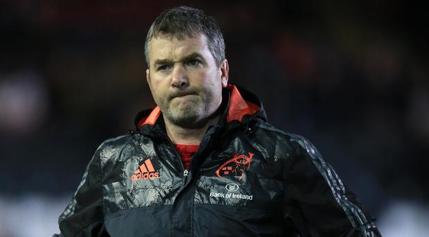 Munster head coach Anthony Foley has died overnight in Paris