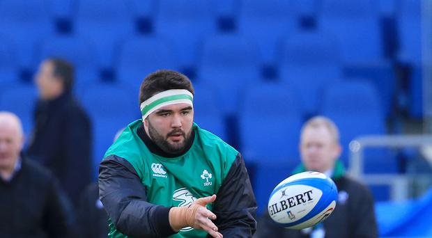 Prop Marty Moore is set to miss Ireland's RBS 6 Nations campaign with hamstring damage.