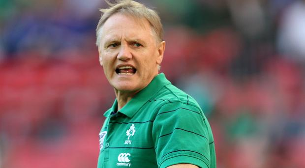 Joe Schmidt's Ireland contract prevents him being considered for the 2017 Lions tour coach role .