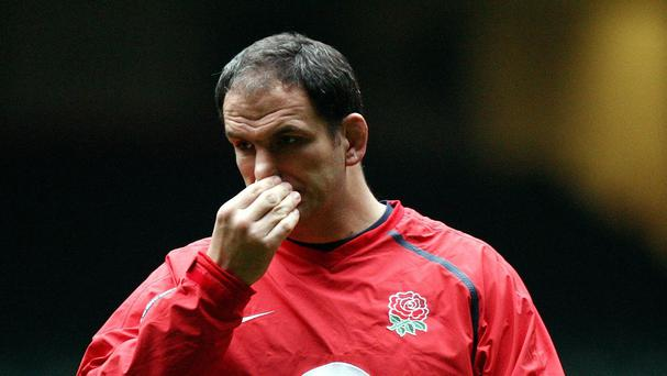 Former England manager Martin Johnson was another coach to lay down the law to his squad.