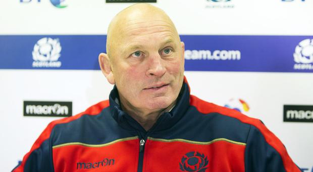 Vern Cotter, pictured, questioned Eddie Jones' assertion that Scotland are favourites to beat England