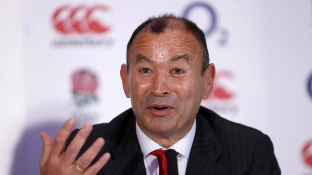 New head coach Eddie Jones will lead England's bid for RBS 6 Nations title glory this season