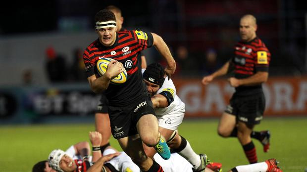 Duncan Taylor has agreed a new contract with Saracens