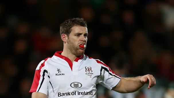 Darren Cave crossed for one of Ulster's four tries