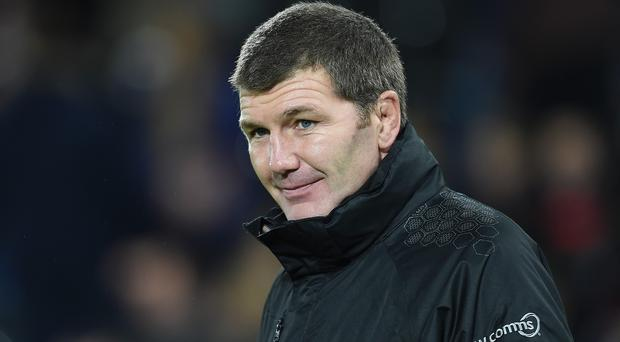 Exeter boss Rob Baxter is looking forward to going head-to-head against Saracens next week