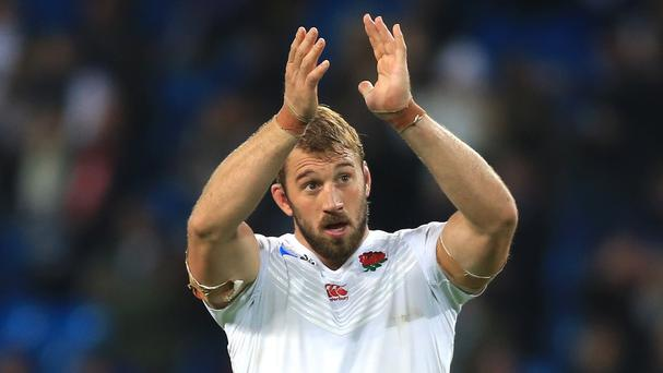 Former captain Chris Robshaw wants to remain a big influence on England