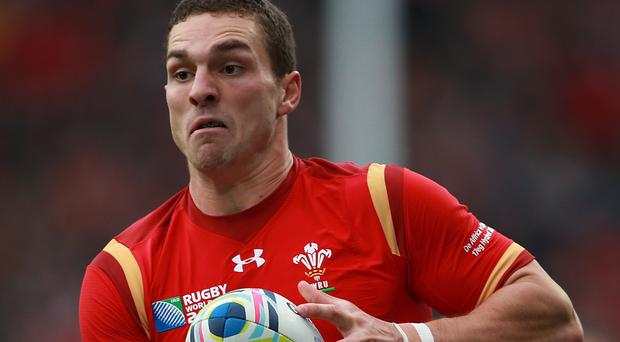 George North is looking forward to getting his hands on the ball with Wales at the Six Nations