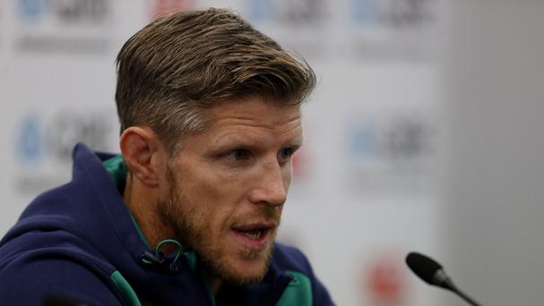 Ireland's forwards coach Simon Easterby says he has completed faith in Stuart McCloskey