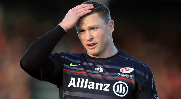 Saracens wing Chris Ashton must serve a 10-week ban after an appeal against the length of punishment was not allowed