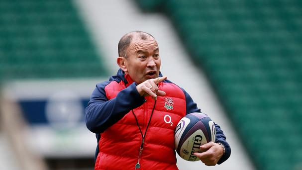 Eddie Jones, pictured, has been praised for telling England to embrace being branded arrogant by their RBS 6 Nations opponents