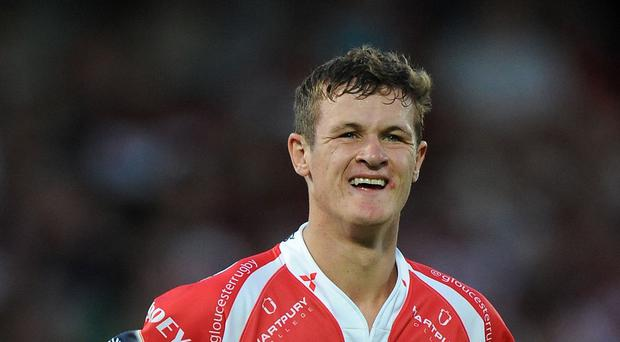 Billy Burns will line up at full-back for Gloucester against Aviva Premiership opponents Bath on Friday