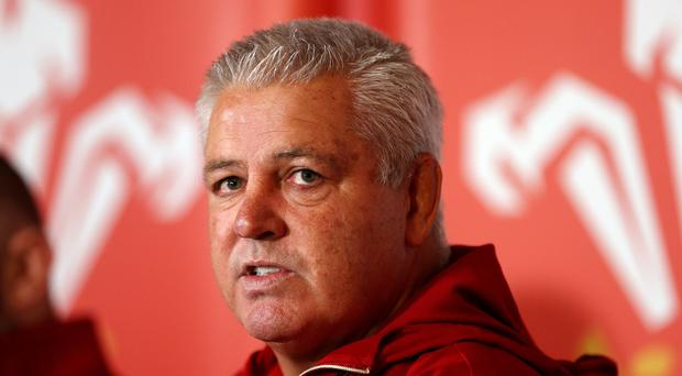Warren Gatland will take charge of his 85th Wales match on Sunday