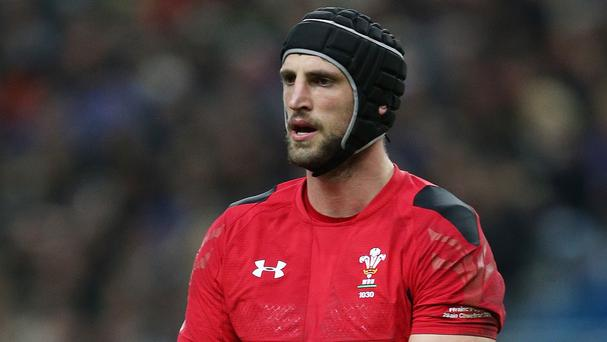 Lock Luke Charteris is set to be a key Wales performer against Ireland