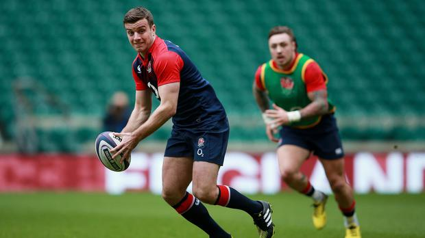 George Ford starts at fly-half for England at Murrayfield