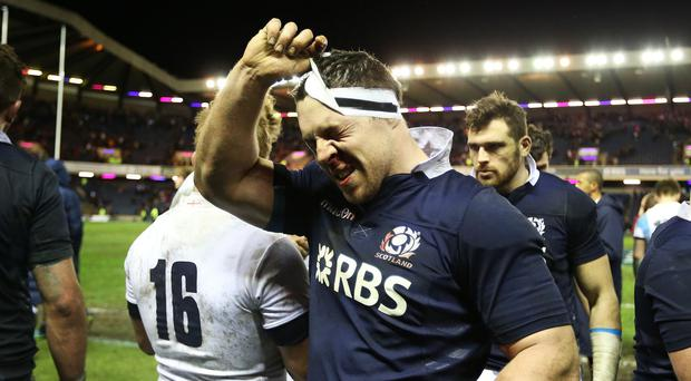 Scotland's Alasdair Dickinson believes the Dark Blues can cling on to their confidence despite losing to England on Saturday