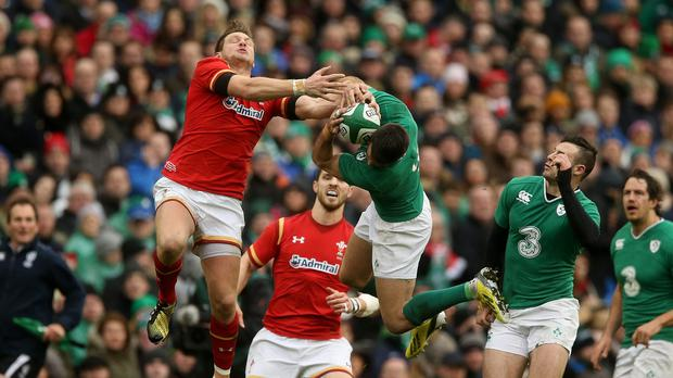 Dan Biggar, left, went off just 22 minutes into Wales' 16-16 draw with Ireland