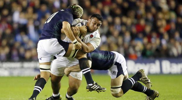 Mako Vunipola made an impressive cameo appearance off the bench against Scotland