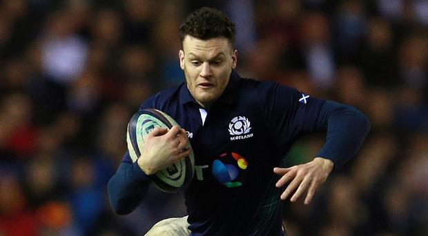 Duncan Taylor comes in for Scotland against Wales