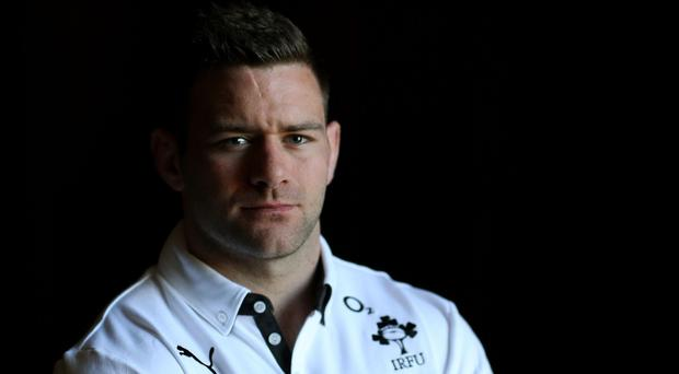 Fergus McFadden will start on the bench for Ireland in Paris