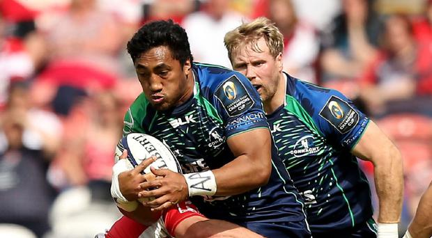 Bundee Aki's try proved to be the match-winner