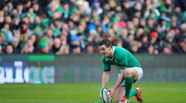 France will likely see Ireland's Johnny Sexton as the key threat to try to neutralise