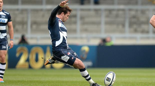 Danny Cipriani kicked vital points for the Sharks