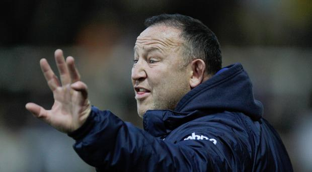 Steve Diamond was delighted with his team's victory over Exeter.