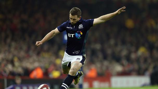 Greig Laidlaw's efforts with the boot could not prevent Scotland slipping to a 27-23 defeat to Wales in Cardiff.